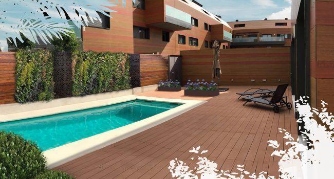 Personalización de jardin interior